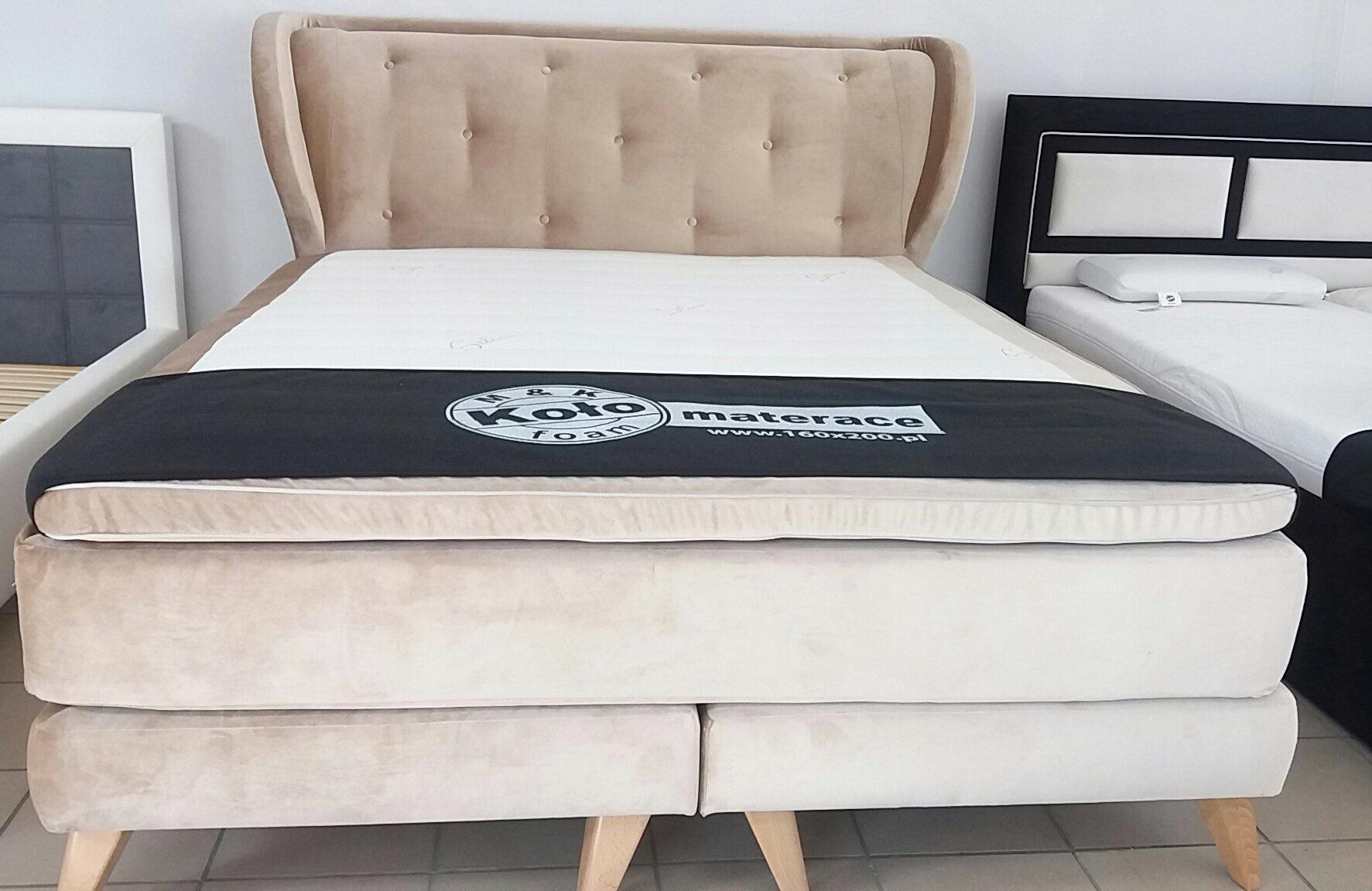 łóżko Kontynentalne 160x200 Koło Wyprzedaż 7359427517