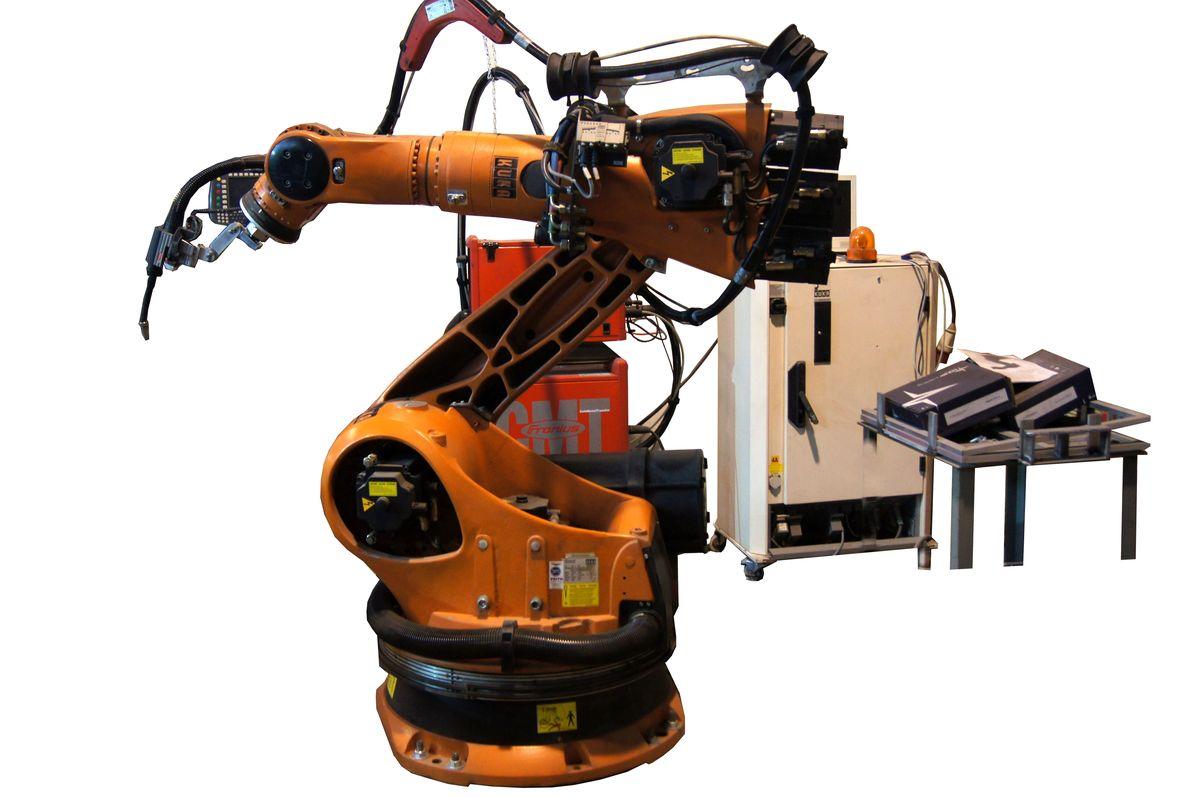 Wspaniały Robot spawalniczy, 6-osiowy, KUKA KR150 + Fronius - 7464092966 XF45