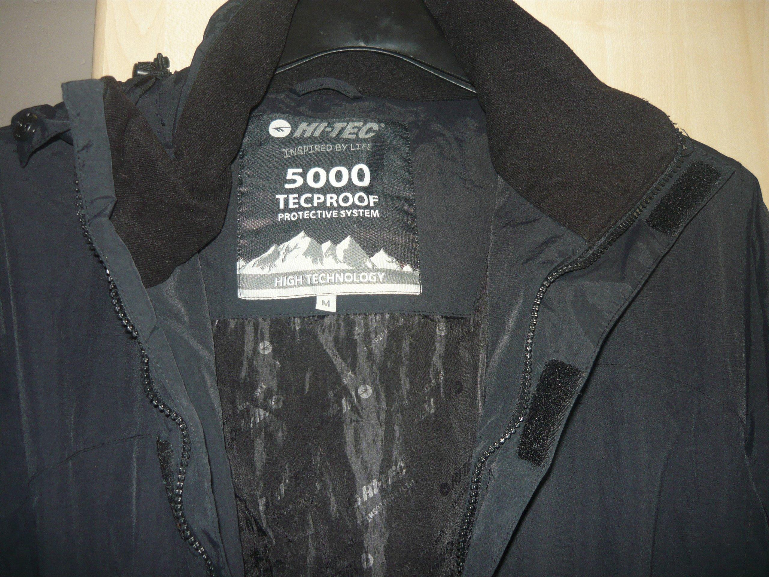 bb08a56776dd7 kurtka zimowa męska HI-TEC bades wodoodporn M 5000 - 7071379822 ...