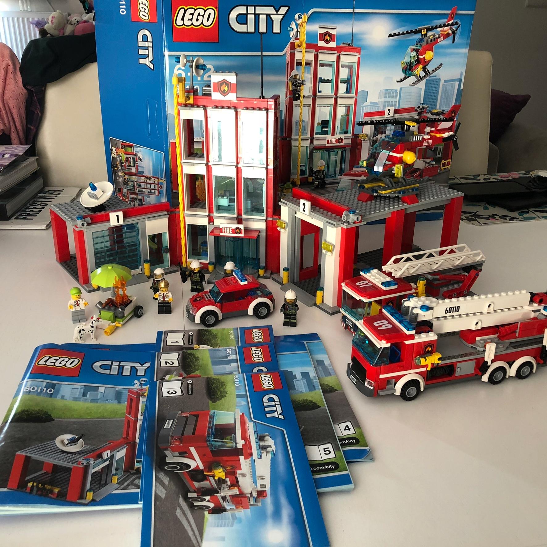 Lego City Straż Pożarna 60110 Gratis Zestaw 7703282180
