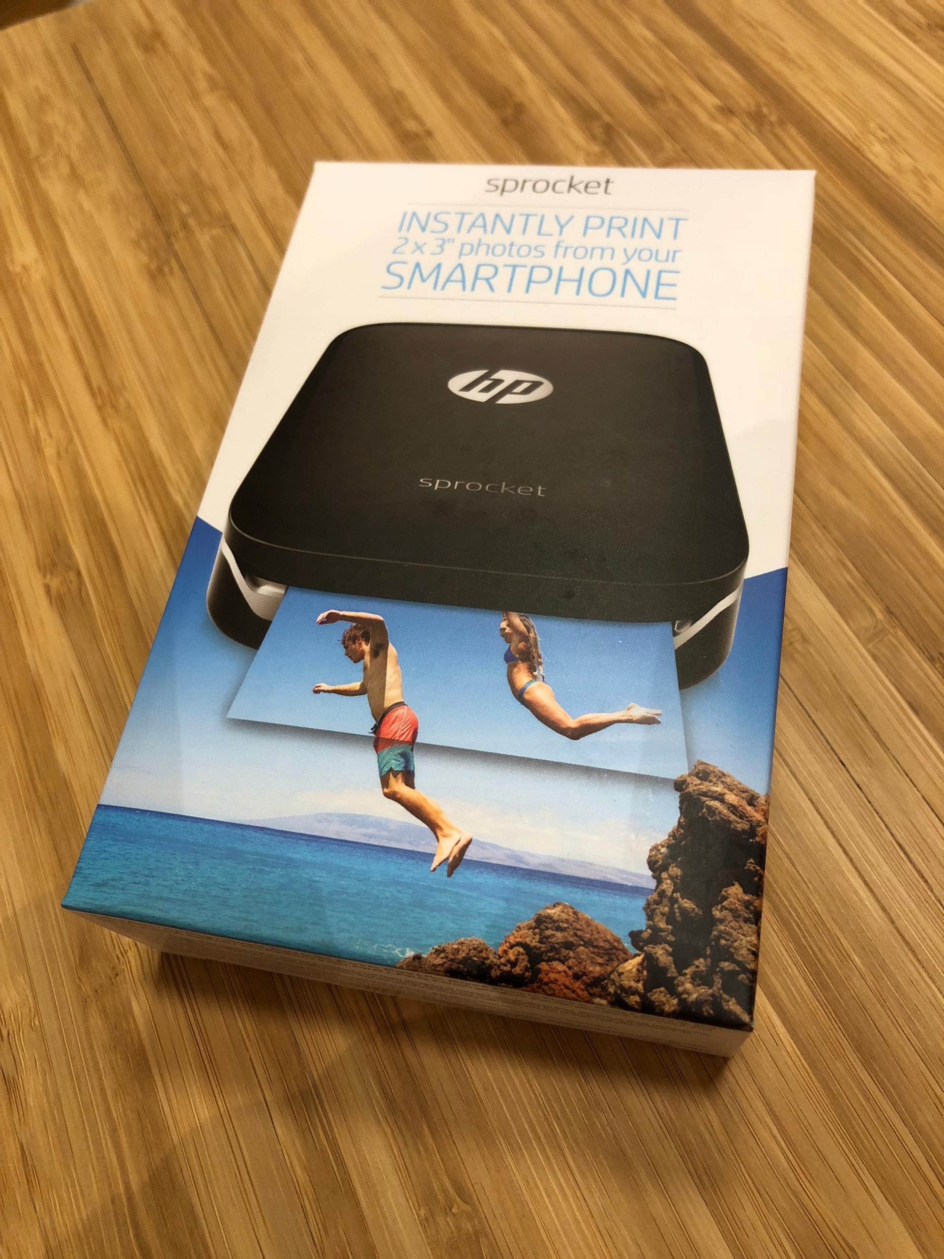 HP Sprocket Z3Z92 drukarka zdjęć NOWA (jak Instax)