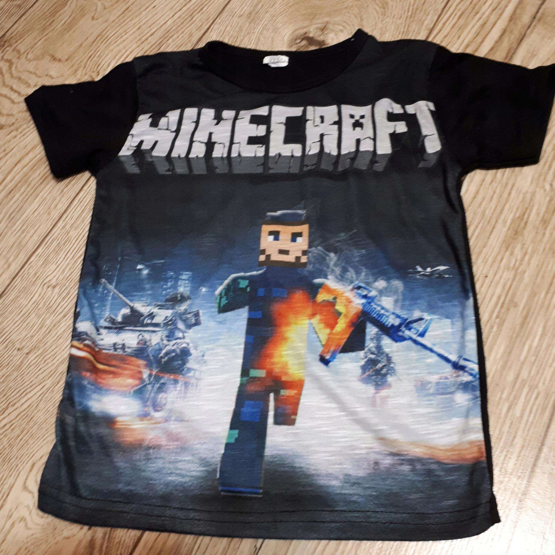 95ddc4f3d T-shirt Minecraft - 7551392616 - oficjalne archiwum allegro