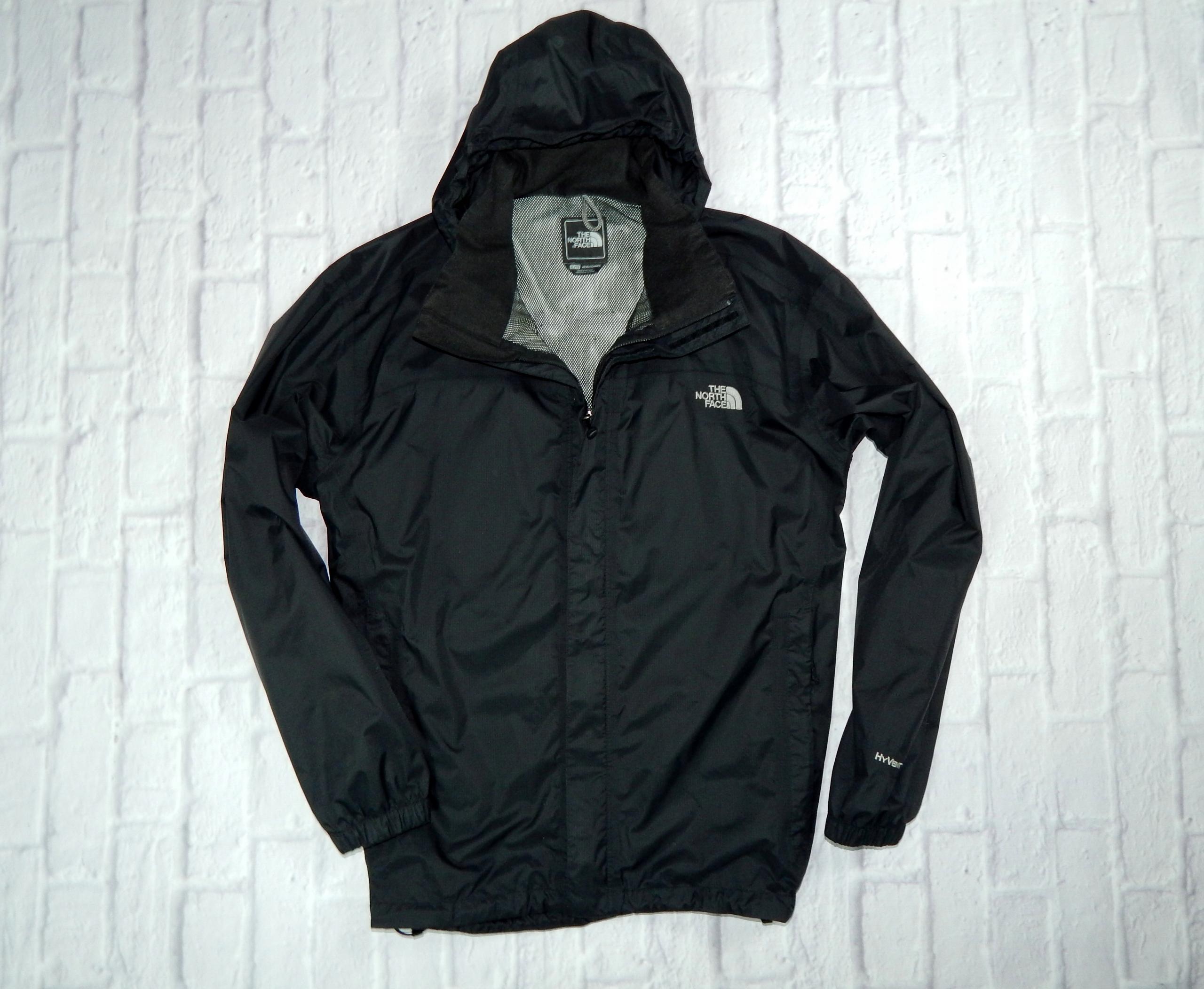 szeroki zasięg sklep w Wielkiej Brytanii brak podatku od sprzedaży THE NORTH FACE męska czarna kurtka HYVENT _XL_