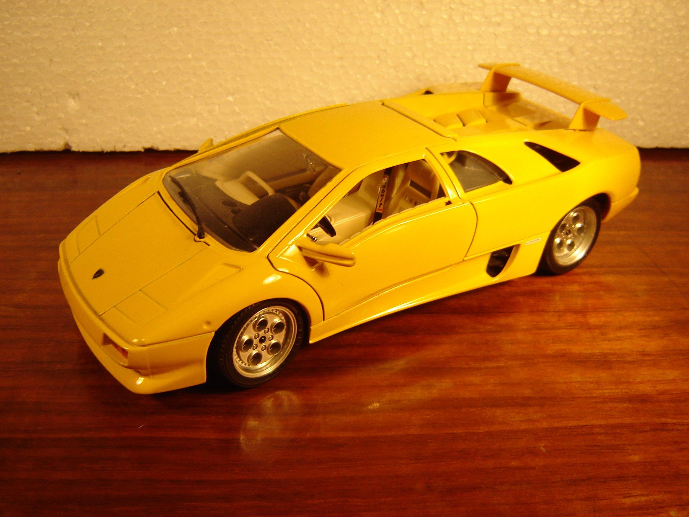 Lamborghini Diablo 1990 Bburago Bez Pudla 7050636544 Oficjalne