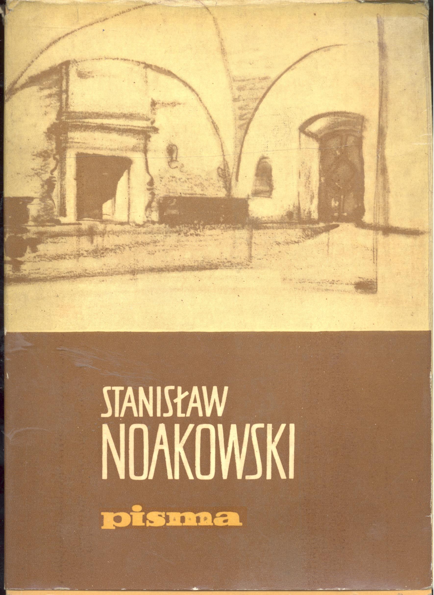 Znalezione obrazy dla zapytania: Stanisław Noakowski Pisma