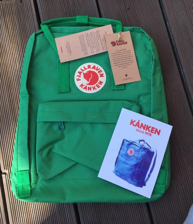 duża obniżka niższa cena z dobra sprzedaż Fjall Raven Kanken - plecak nowy zielony - 7629280353 ...