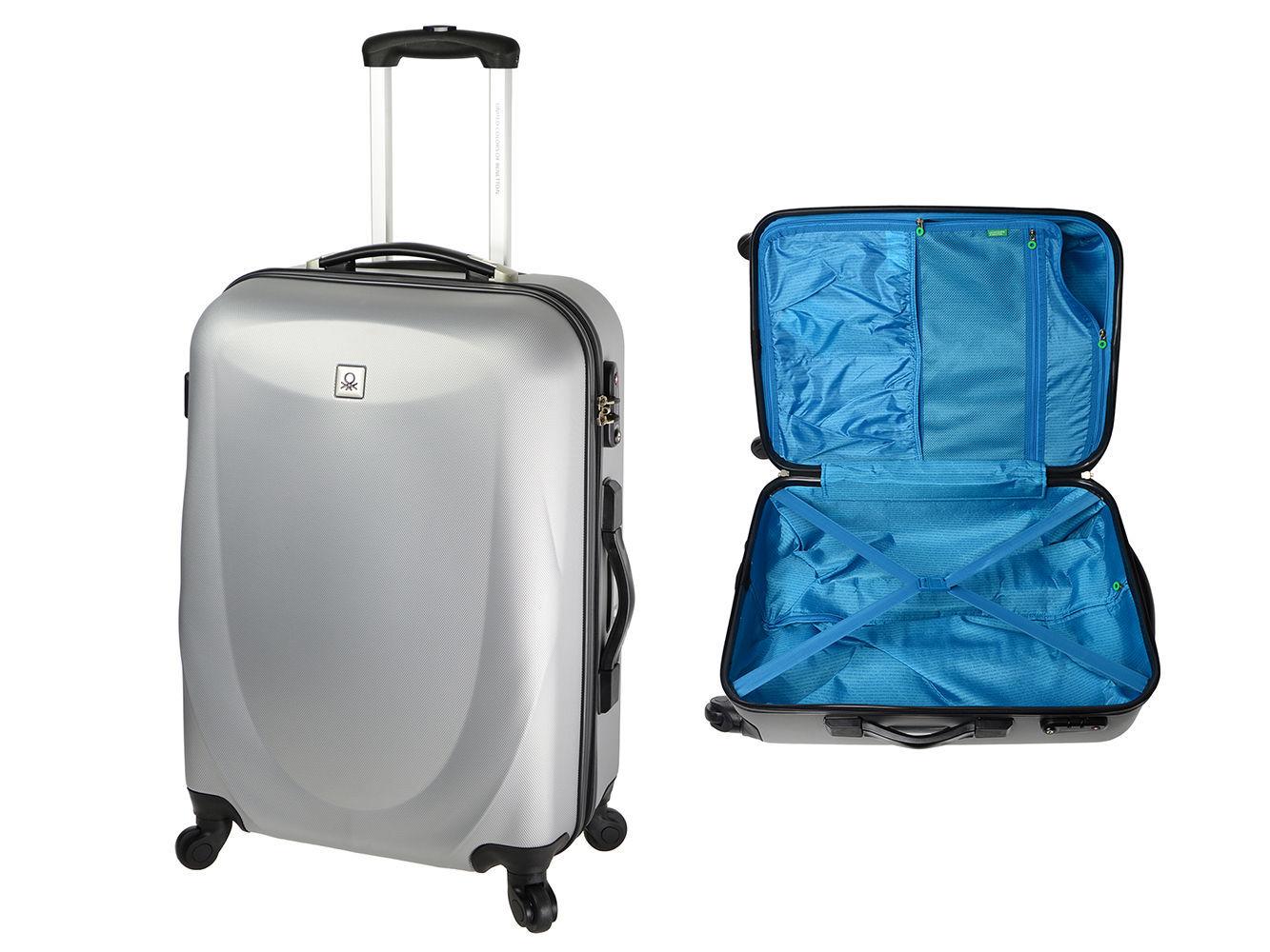 43b0c9a0a6b5a BENETTON Weight It średnia walizka twarda /24h - 6951273537 ...