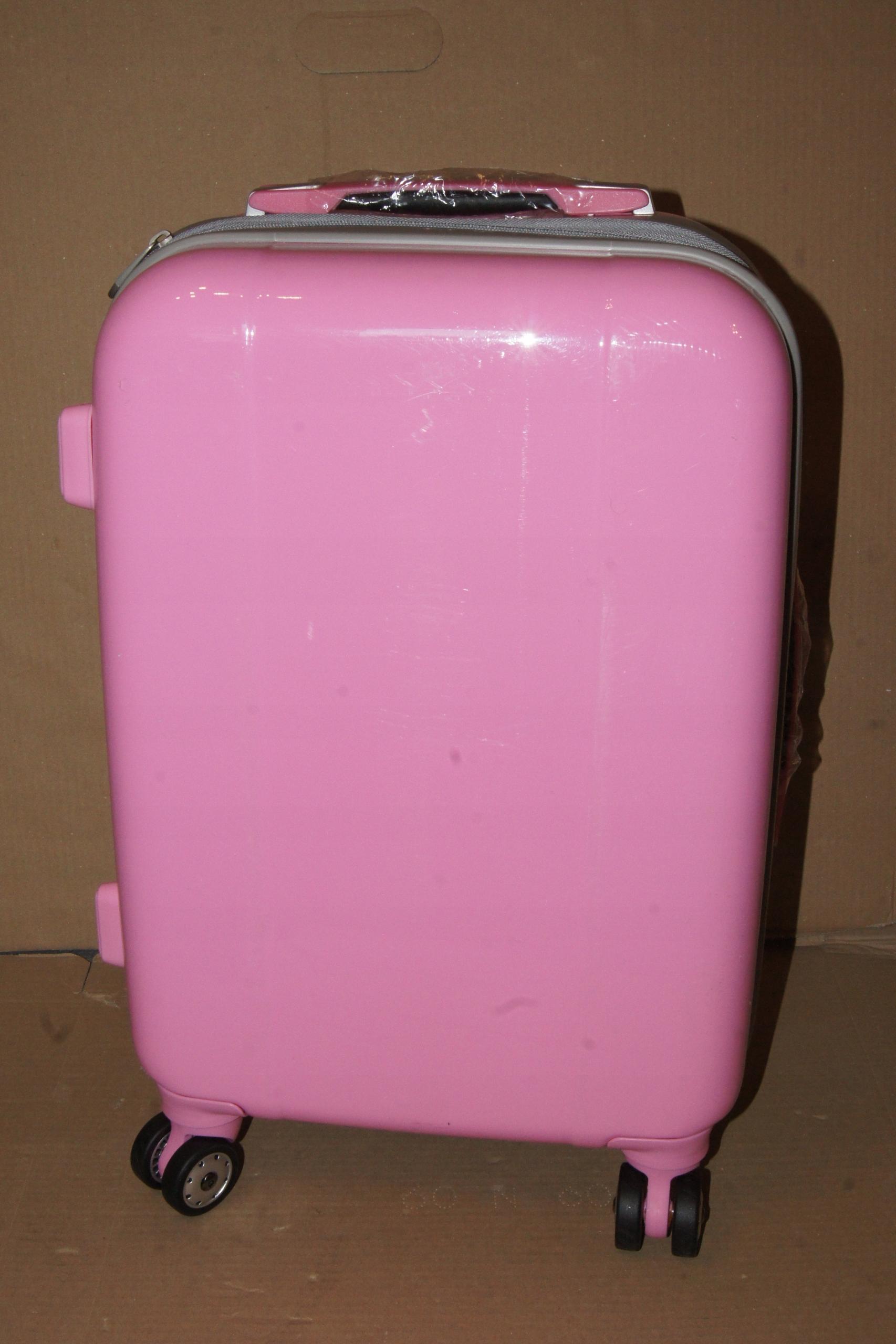ccdecbb37e0df Walizka podręczna mała Calibag Classic Różowa - 7675054650 ...