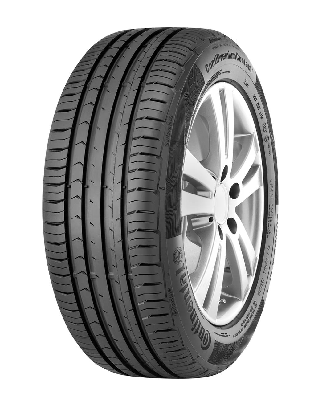 4x Continental ContiPremiumContact 5 195/65 R15 91