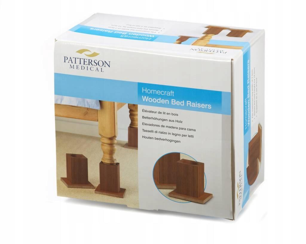 Podkładki Podwyższające Do łóżka Patterson 13cm 7783074696