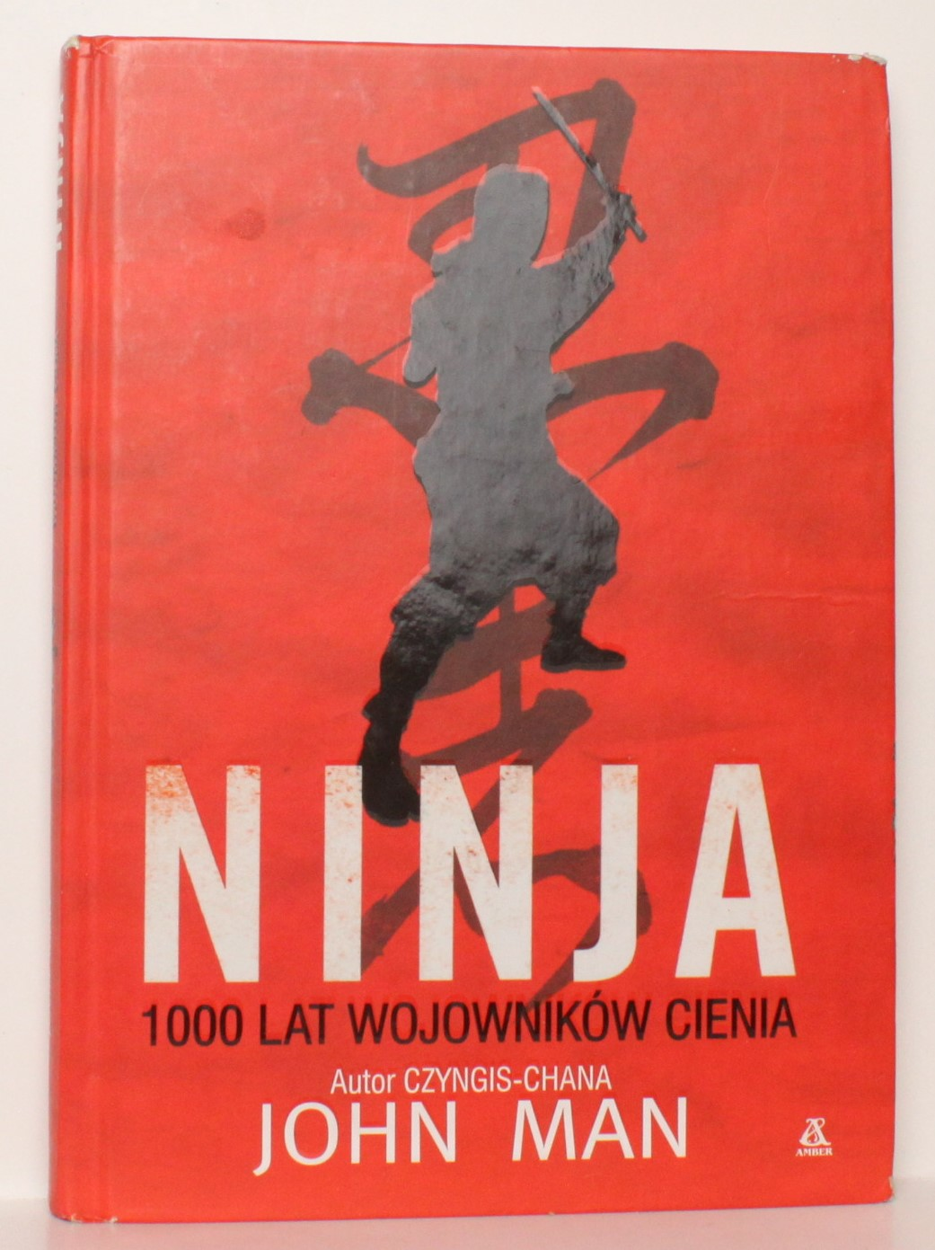 NINJA 1000 LAT WOJOWNIKÓW CIENIA - JOHN MAN
