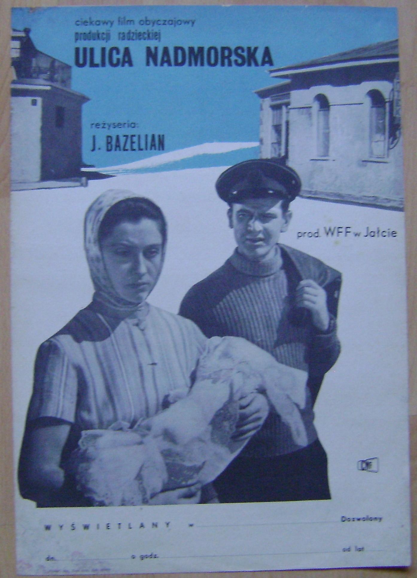 Ulica Nadmorska Plakat Film Radziecki Lata 60 Te
