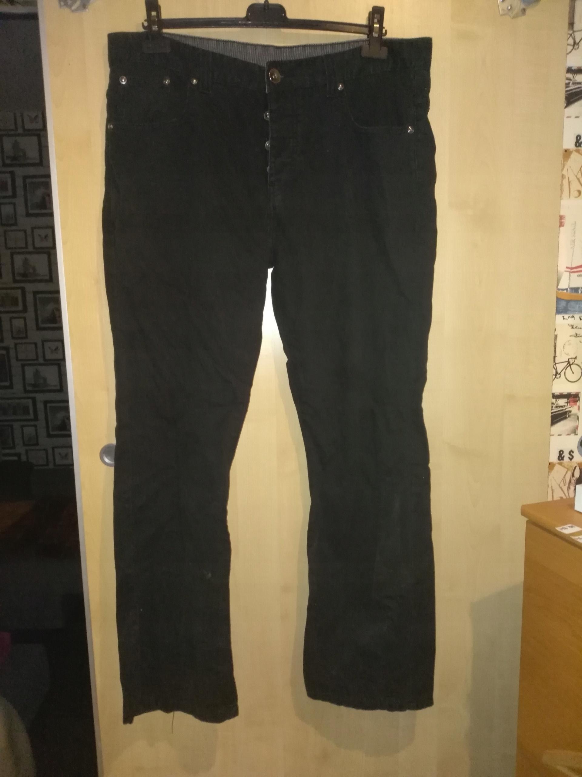f0d908d0b021 spodnie męskie czarne rozmiar L XL - 7639689966 - oficjalne archiwum ...
