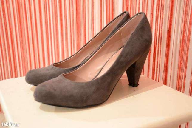 4add177274e5b Brązowe czółenka szpilki buty La Strada 37 obcas - 7155761646 ...