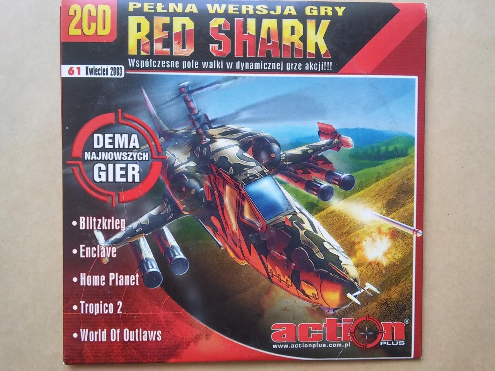 Red Shark Action Plus kwiecień 2003 2 cd