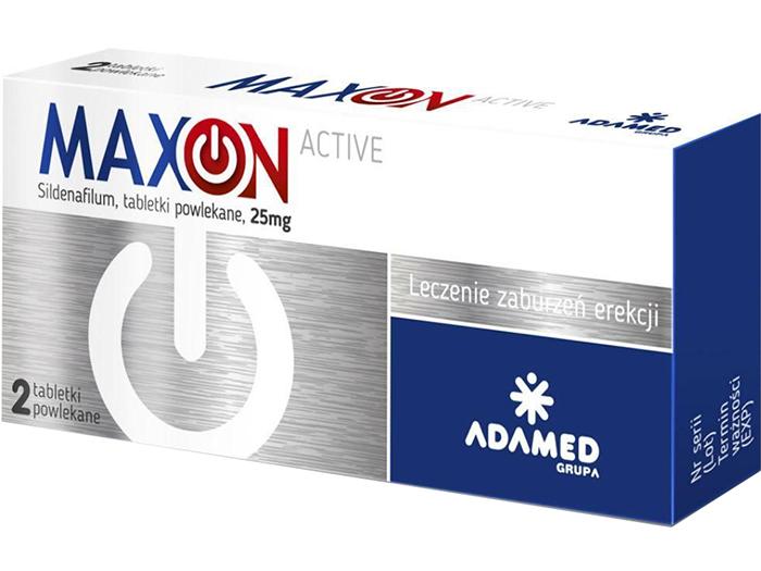 AP MaxOn Active lek potencja erekcja 2 tabletki