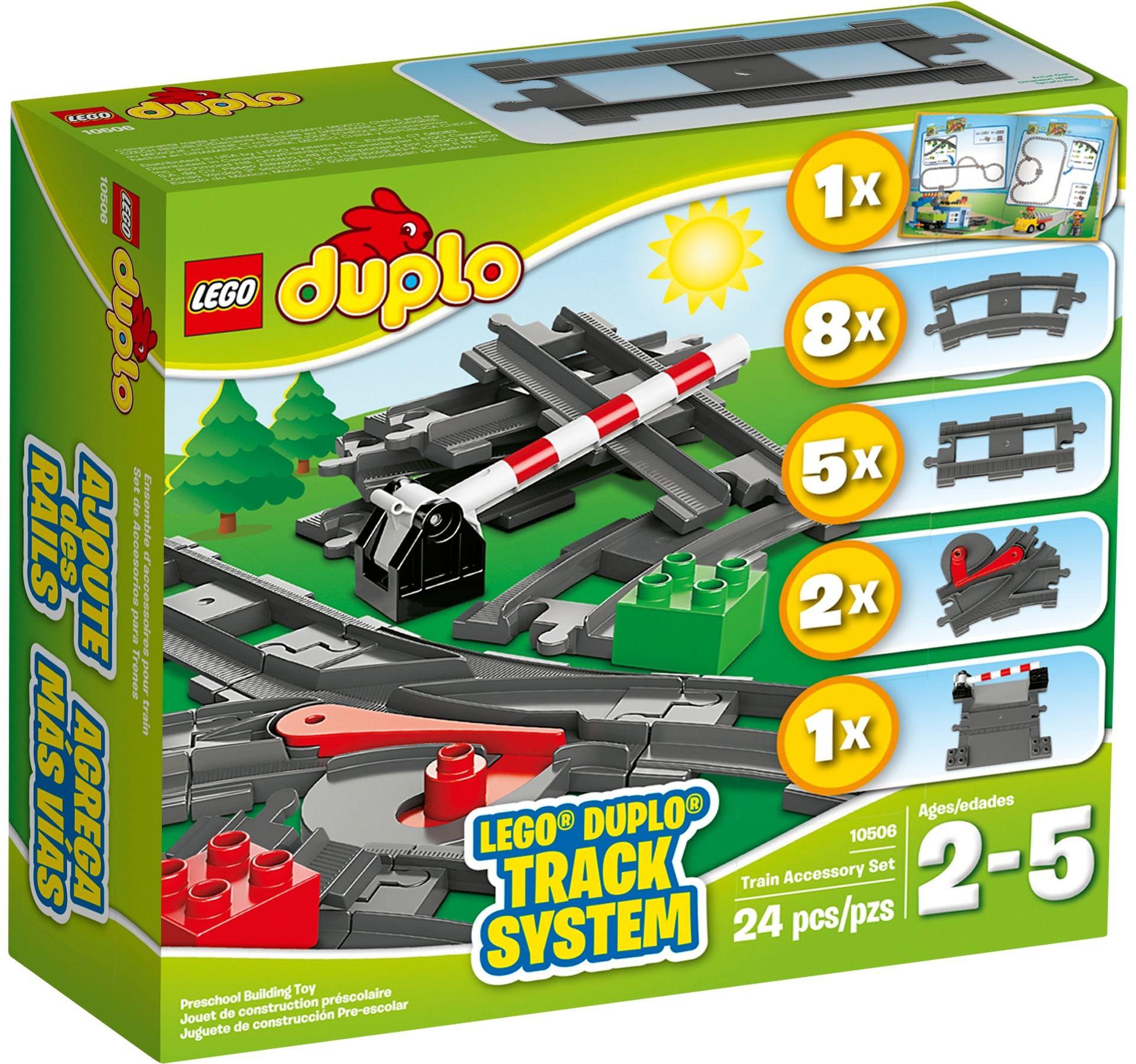 Lego Duplo Tory Kolejowe 10506 7260184945 Oficjalne Archiwum Allegro