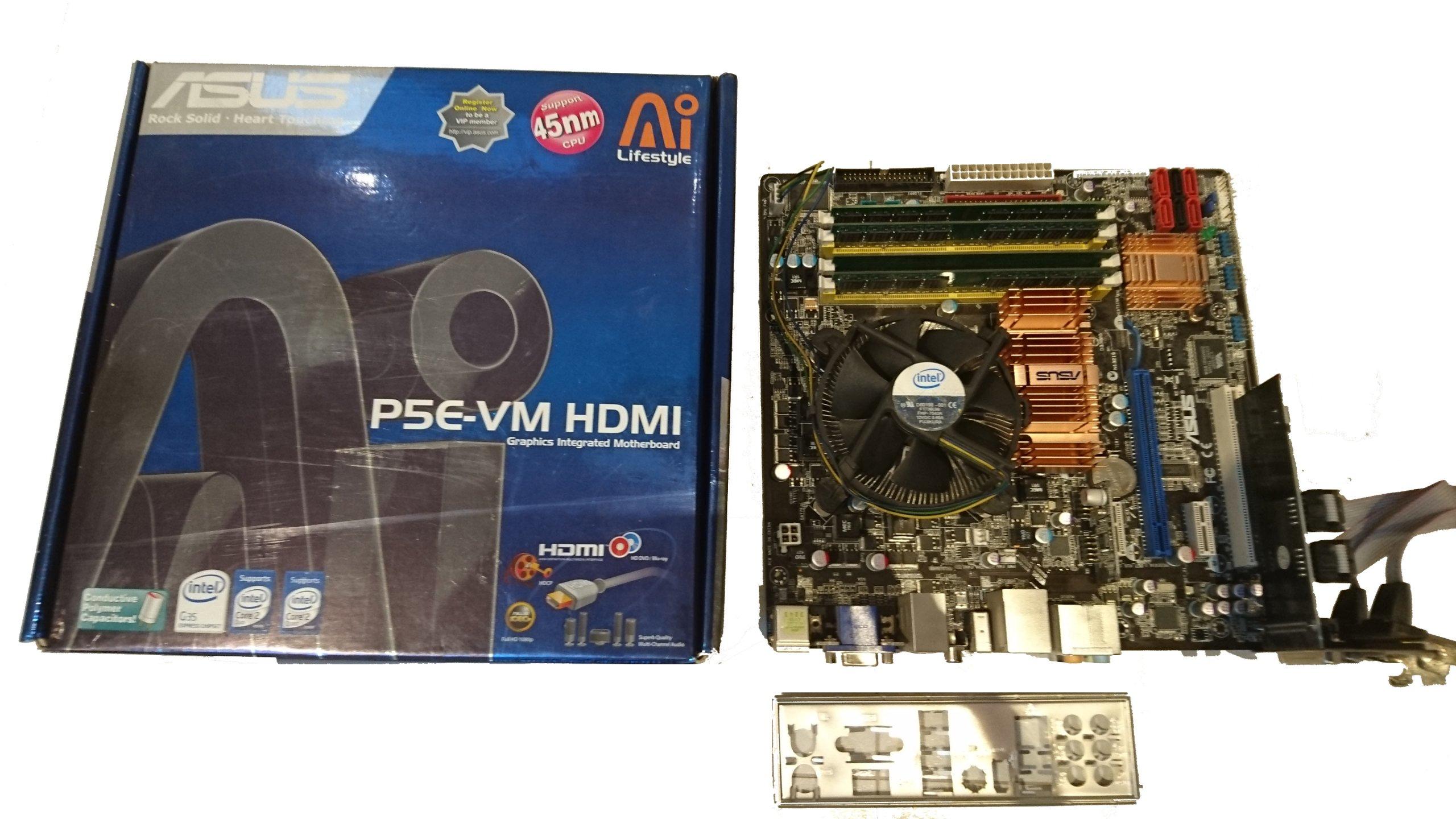 DRIVER: ASUS P5E-VM HDMI VGA
