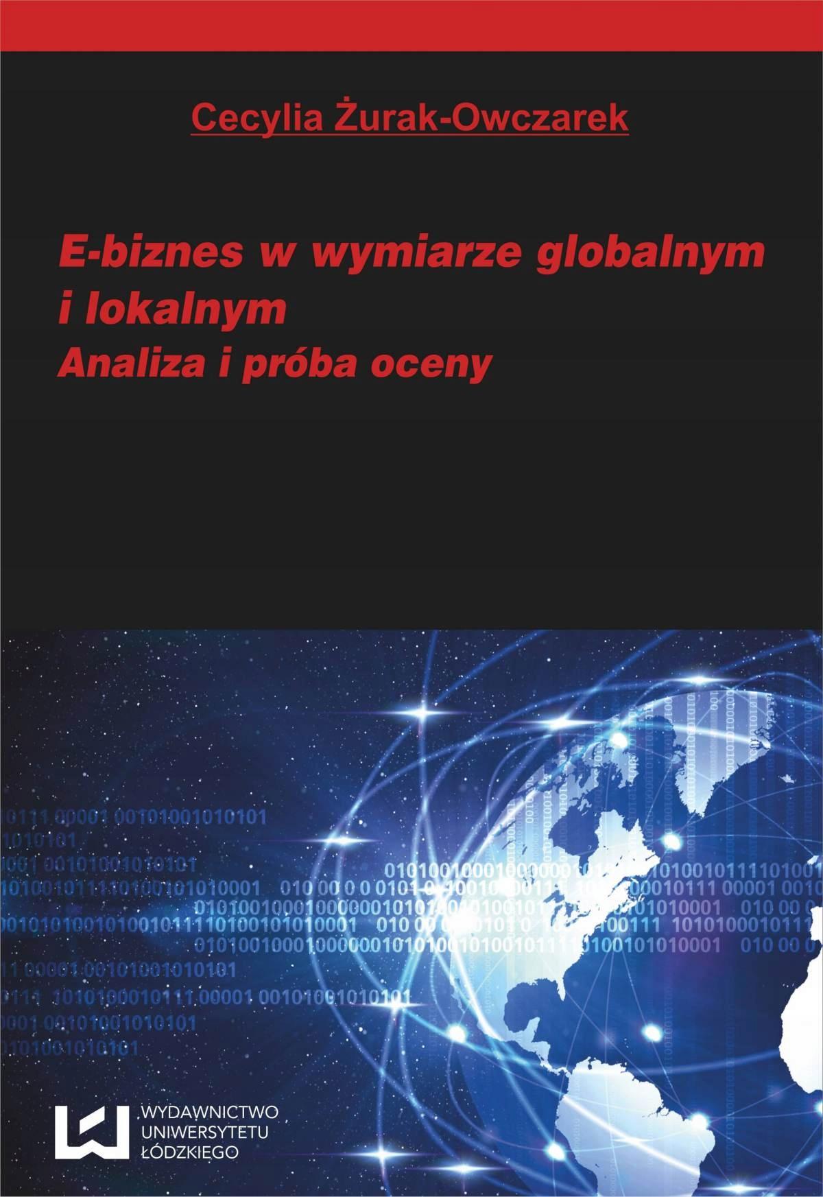 E-biznes w wymiarze... Cecylia Żurak-Owczarek
