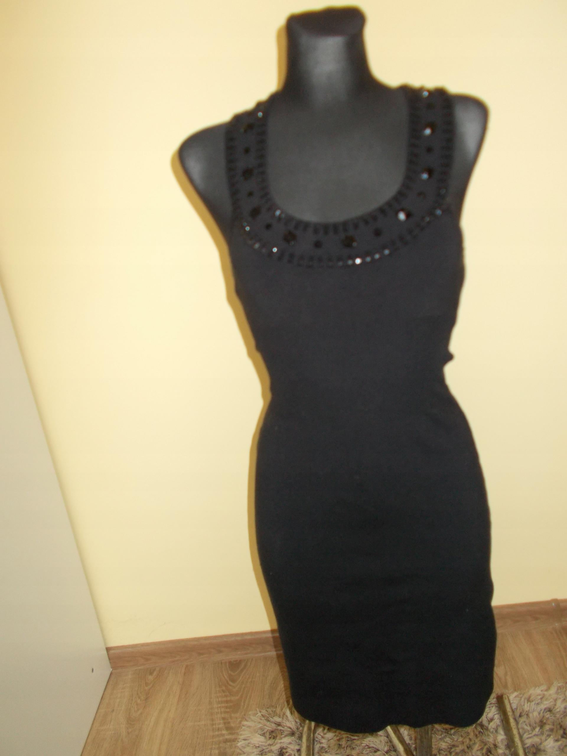 ca39575ca2 Dzianinowa sukienka Bernshaw 36 jedwab - 7652851694 - oficjalne ...