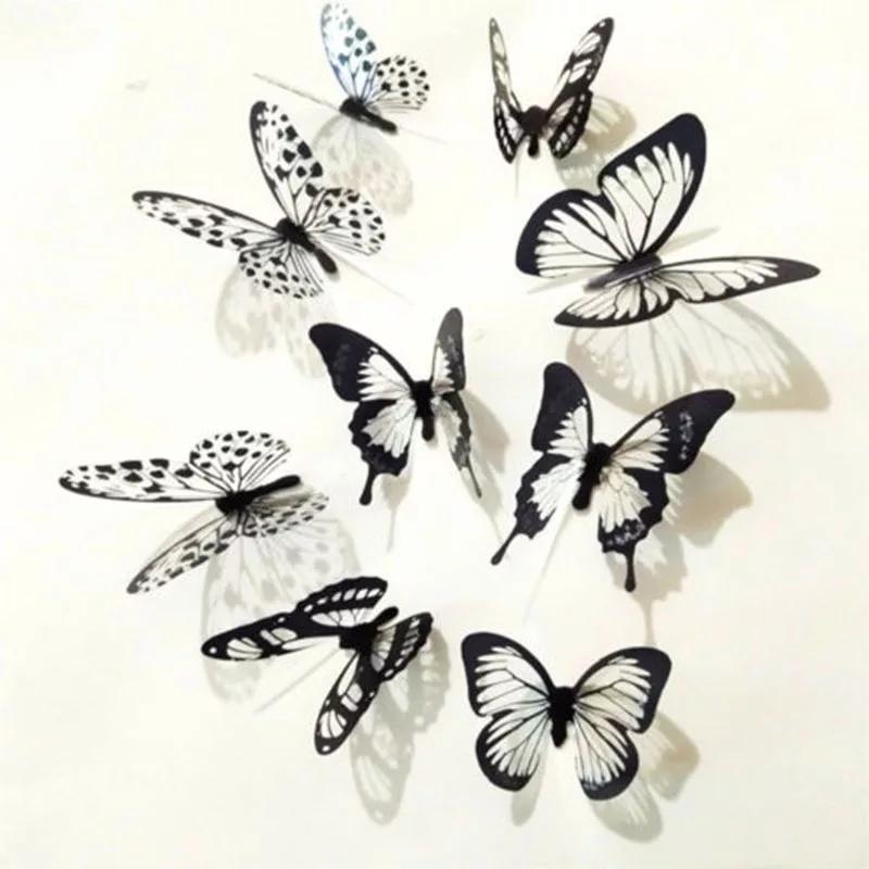 Motyle Dekoracyjne Na ścianę 3d Motyle Ozdobne 7384767119
