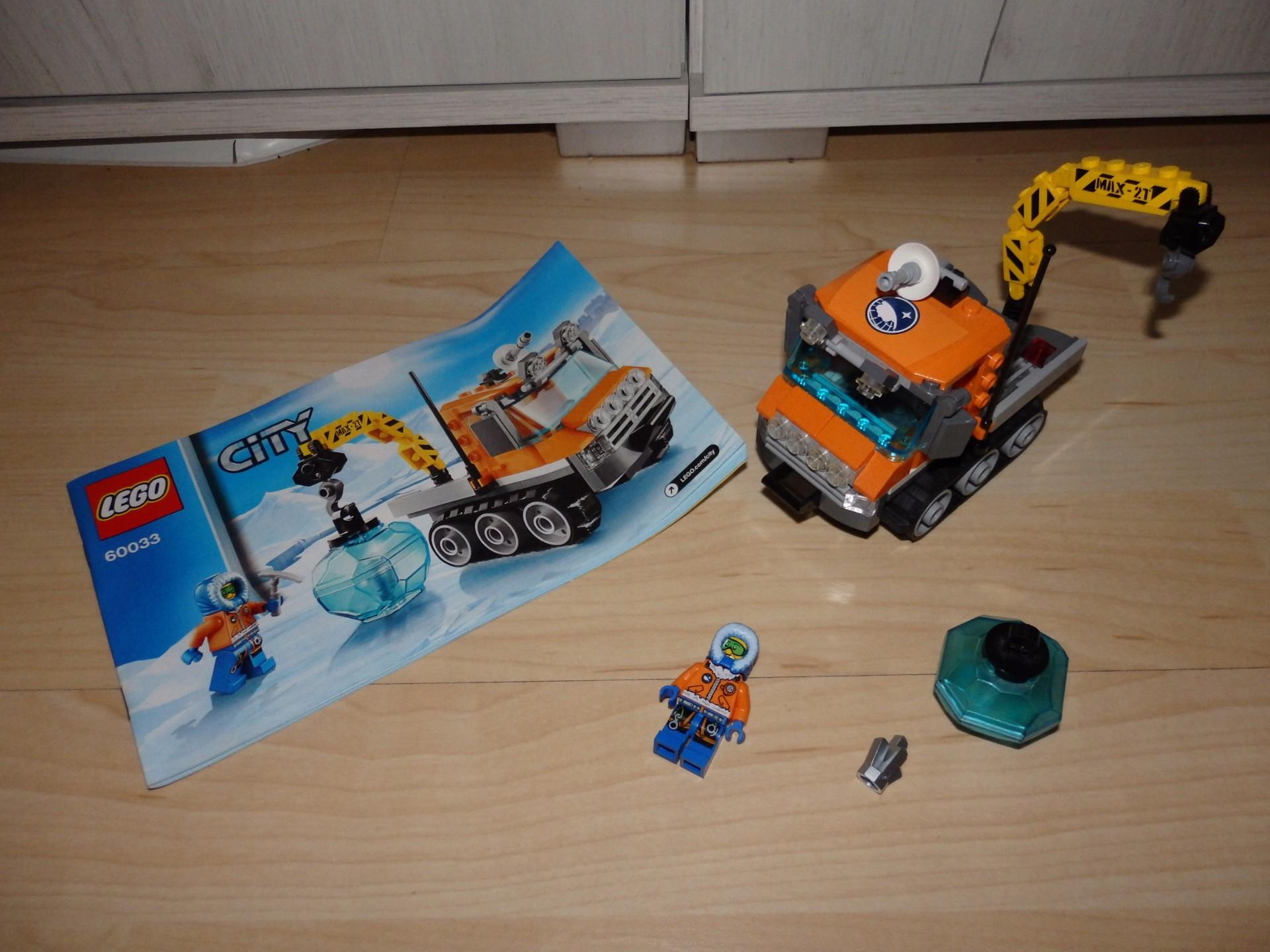 Lego 60033 Arktyczny łazik Arktyka Auto 7422795346 Oficjalne