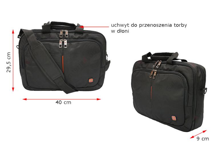 db8964e8b79ec Markowa torba na ramię na tablet laptopa JAKOŚĆ R1 - 7360666028 ...