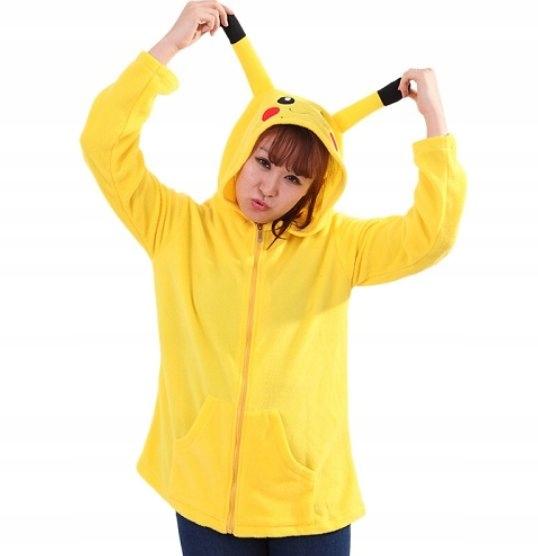 Bluza damska zwierzęta kigorumi pikachu tumblr M