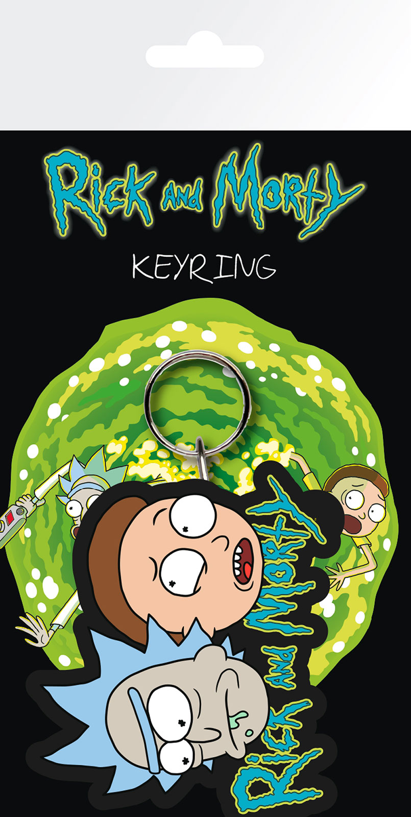 Rick (i) and Morty - breloki, brelok na klucze