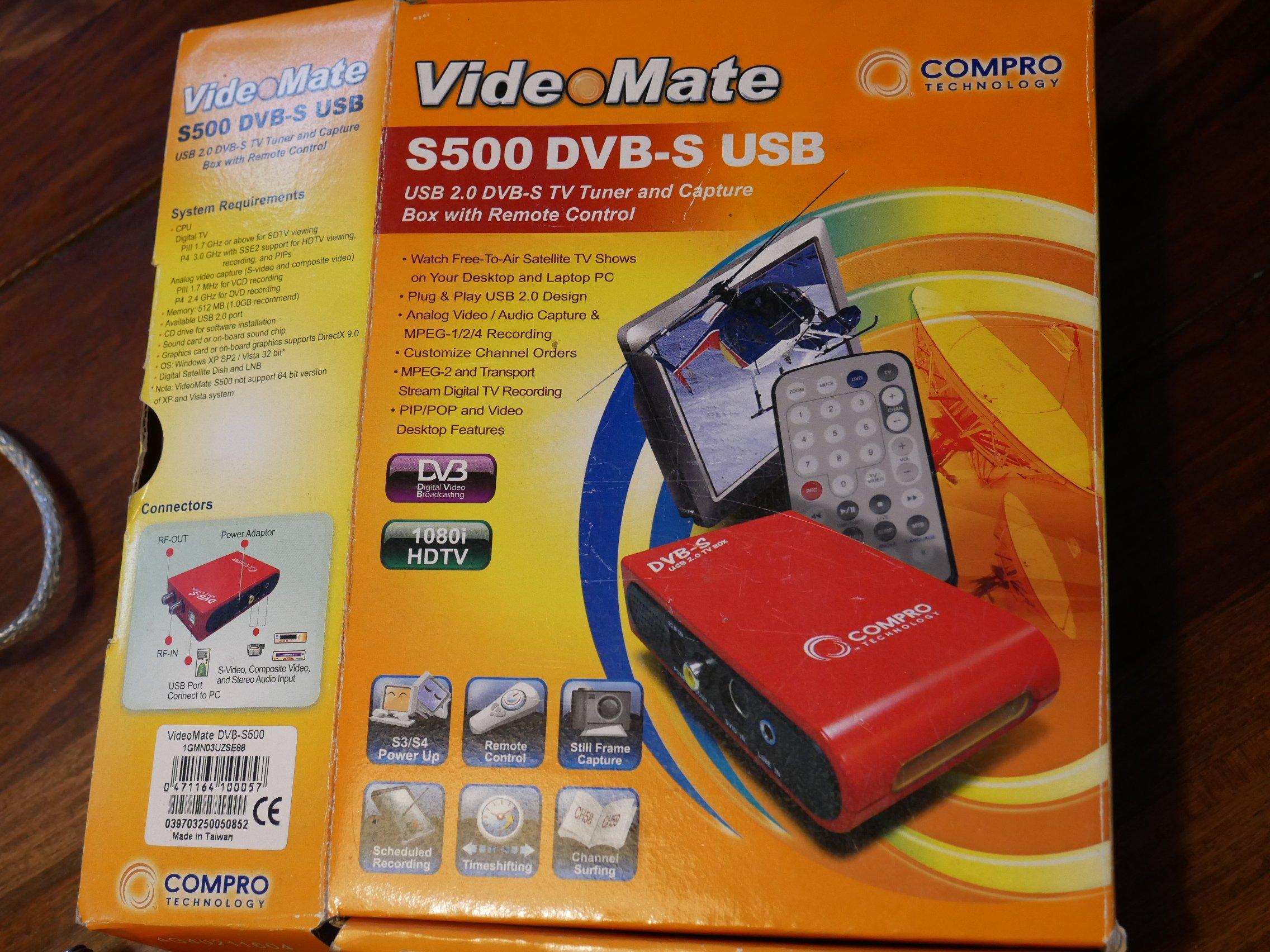videomate s500 driver