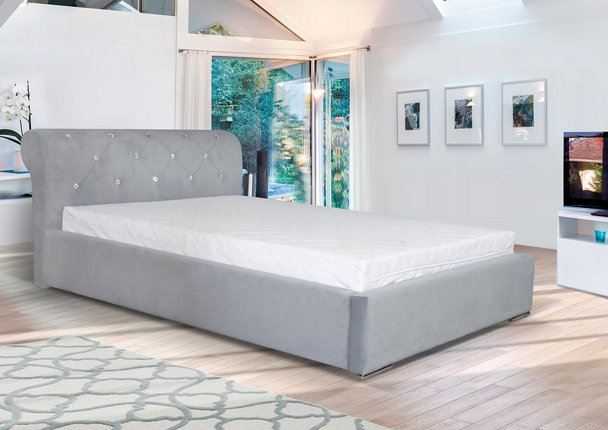 Tapicerowane łóżko Do Sypialni Na Wymiarwymiary