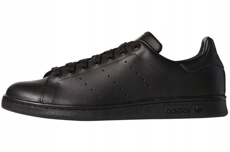 99e8408d Czarne Skórzane Buty Adidas Originals r.42 2/3 - 7446924424 - oficjalne  archiwum allegro