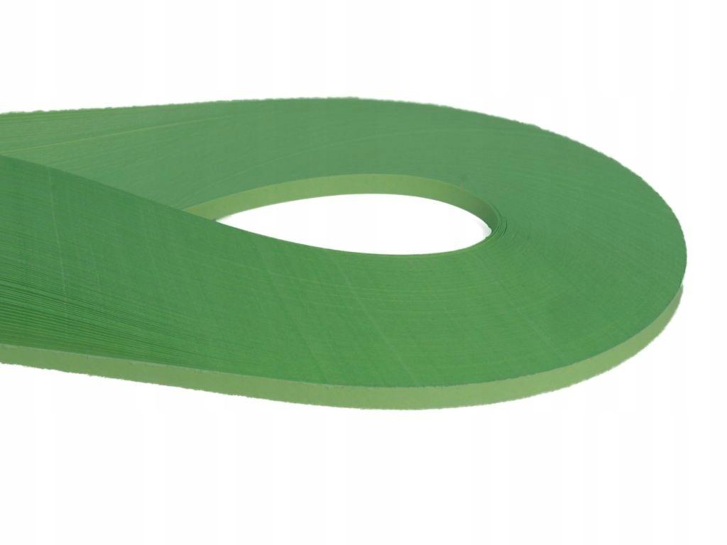 Paski do quillingu 120g 3mm 200szt zielony groszek