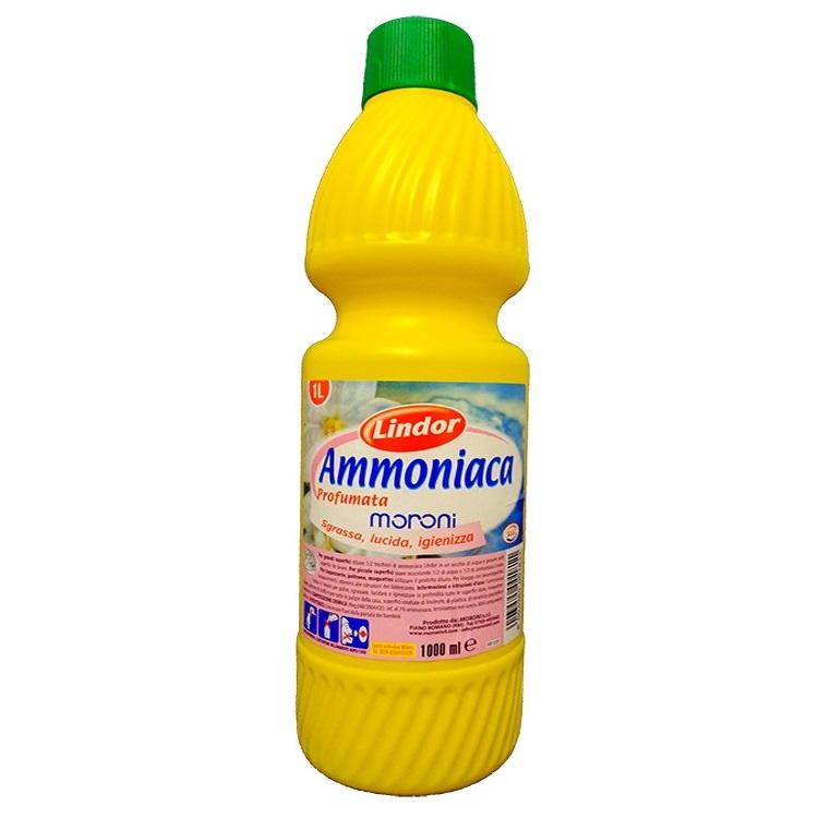 Lindor Amoniak 1l - włoski amoniak do czyszczenia
