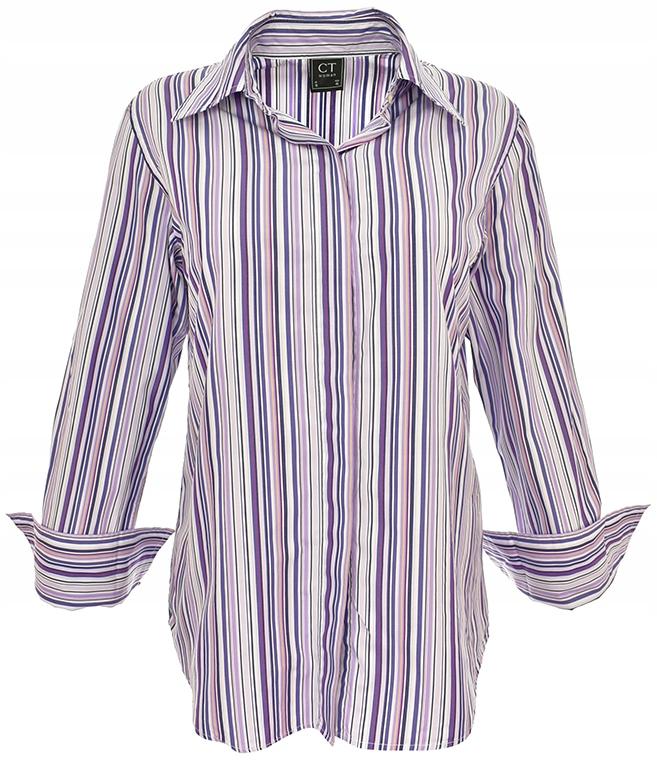 7df0d0e3077d lH6809 koszula w kolorowe paski 44 - 7487242850 - oficjalne archiwum ...