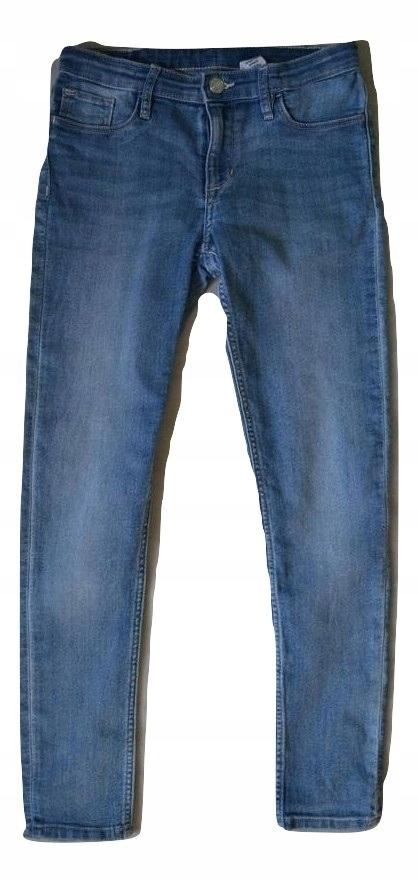 H&M Spodnie Jeansy Rurki 146m. 10 lat SKINNY