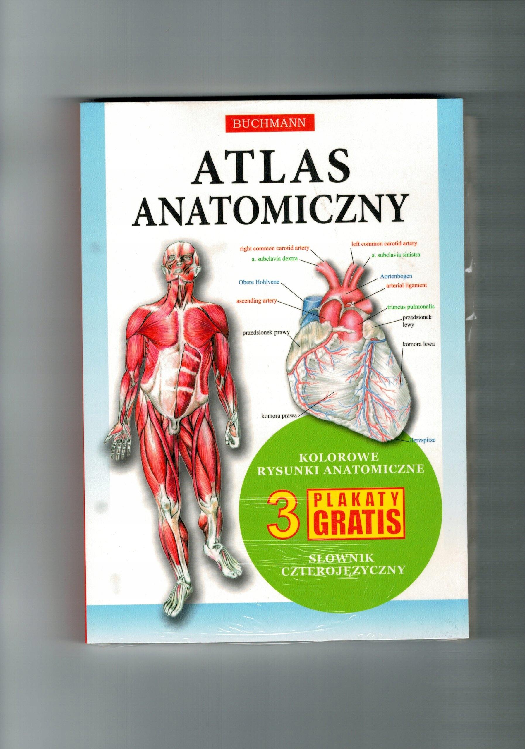 Atlas Anatomiczny3 Plakaty Buchmann 7120212423