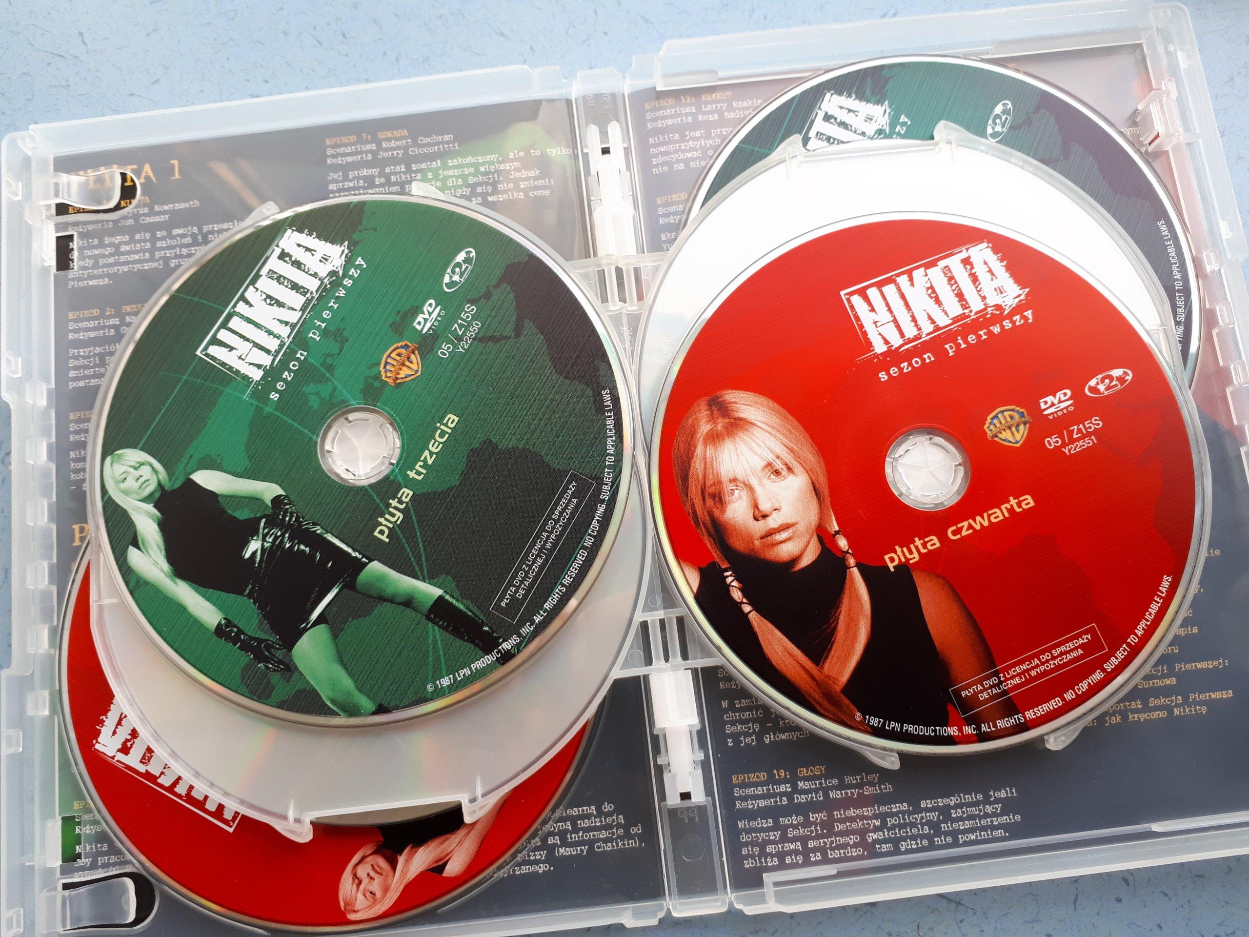 NIKITA SEZON 1*LA FEMME NIKITA* PETA WILSON '97 - 7249586010