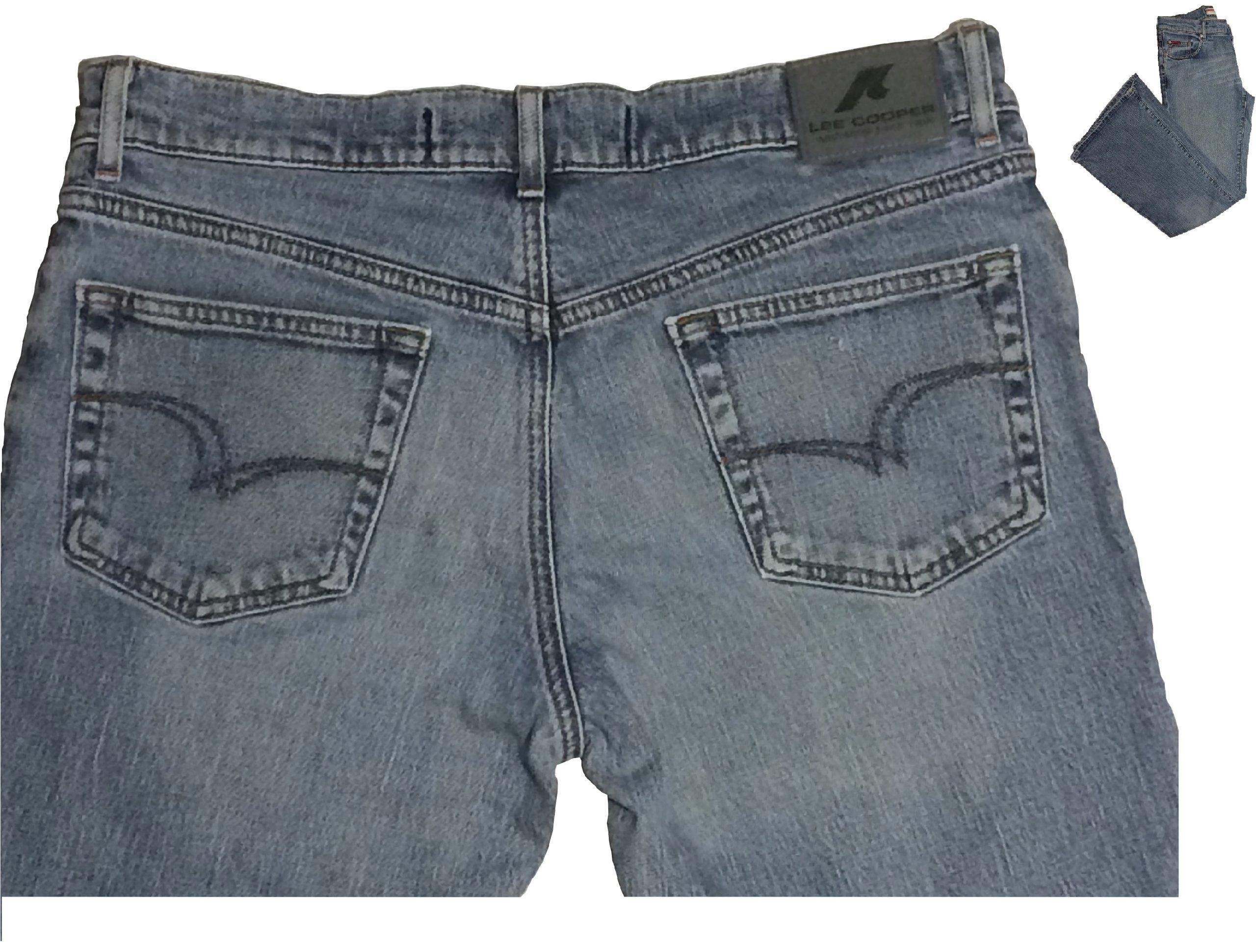 bb02fc7f7cdc Markowe spodnie damskie jeans Lee Cooper r. 33 - 6730013309 ...