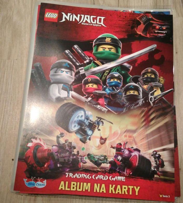 Album Na Karty Lego Ninjago Tcg Seria 3 7159499062 Oficjalne