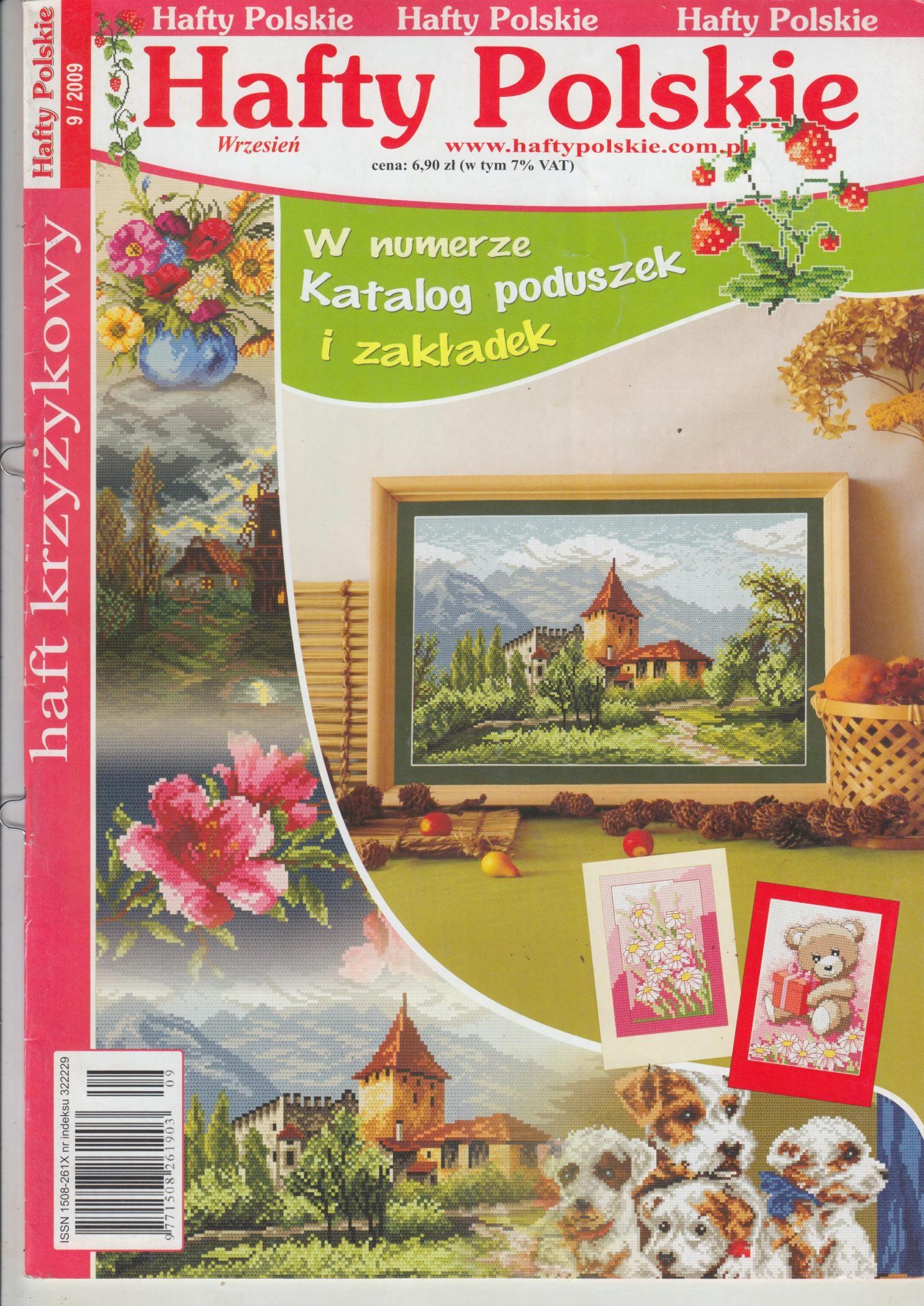 Fantastyczny Hafty polskie 9/2009 - igłą malowane - 7677765573 - oficjalne IN43