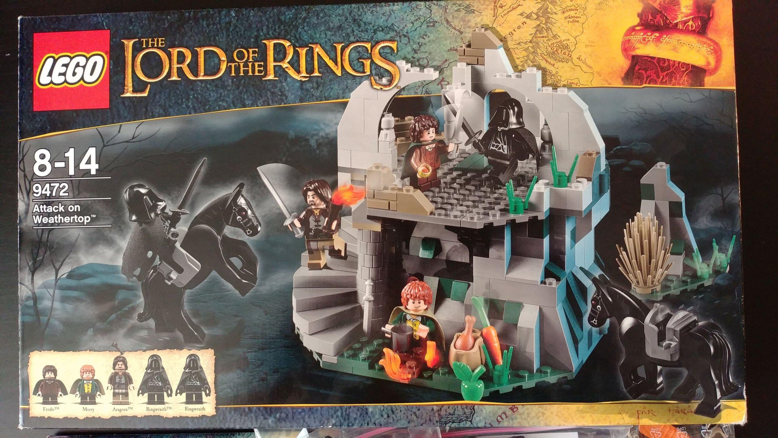 9472 Lego Lord Of The Rings Władca Pierścieni 7111754357