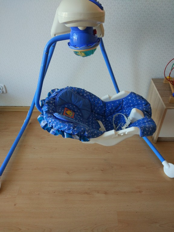 Bujaczek Fisher price aquarium cradle swing - 7305086438