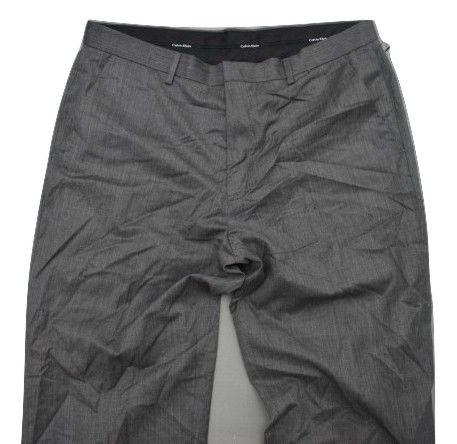 B Modne Spodnie wełna Calvin Klein 34/30 z USA!