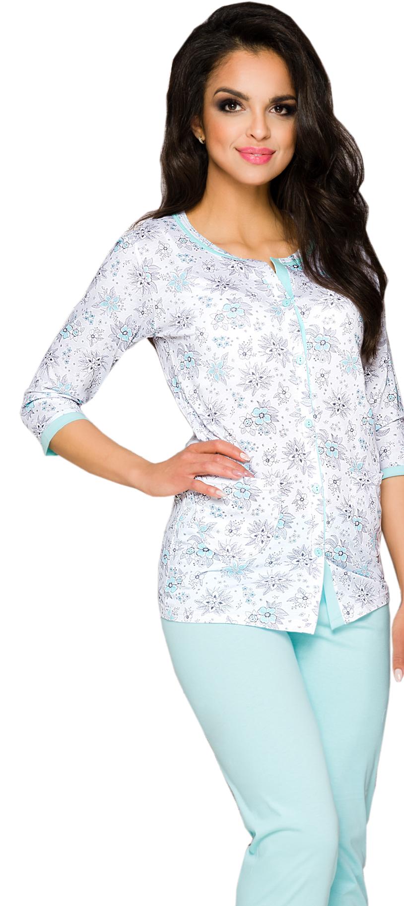 2d44faba70c50c TARO 2122 piżama FABIA wz.1 rozpinana # L 40 - 6995518570 ...