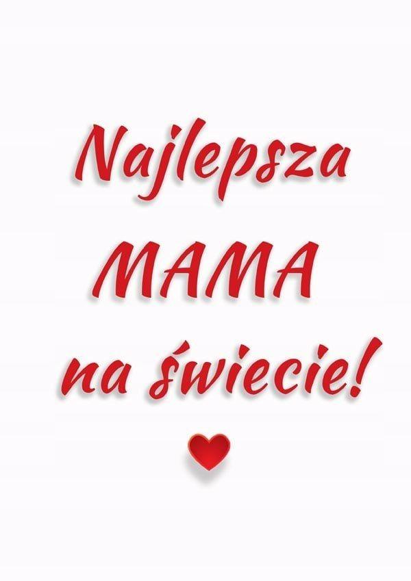 Mama Plakat 7693870085 Oficjalne Archiwum Allegro