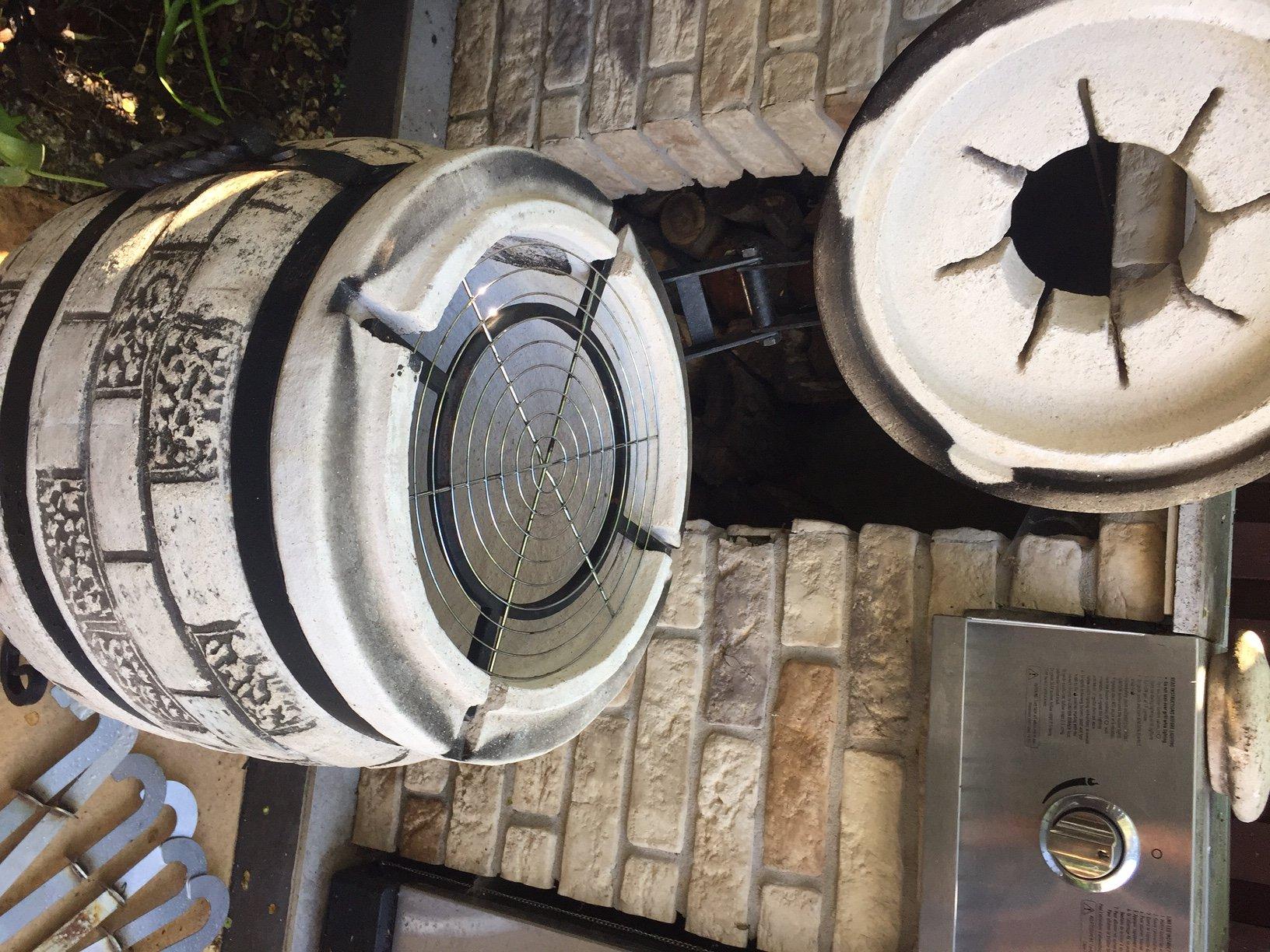 Bardzo dobryFantastyczny piec tandoor, tandor, za pół ceny, grill wędzarnia - 7336148498 JX19