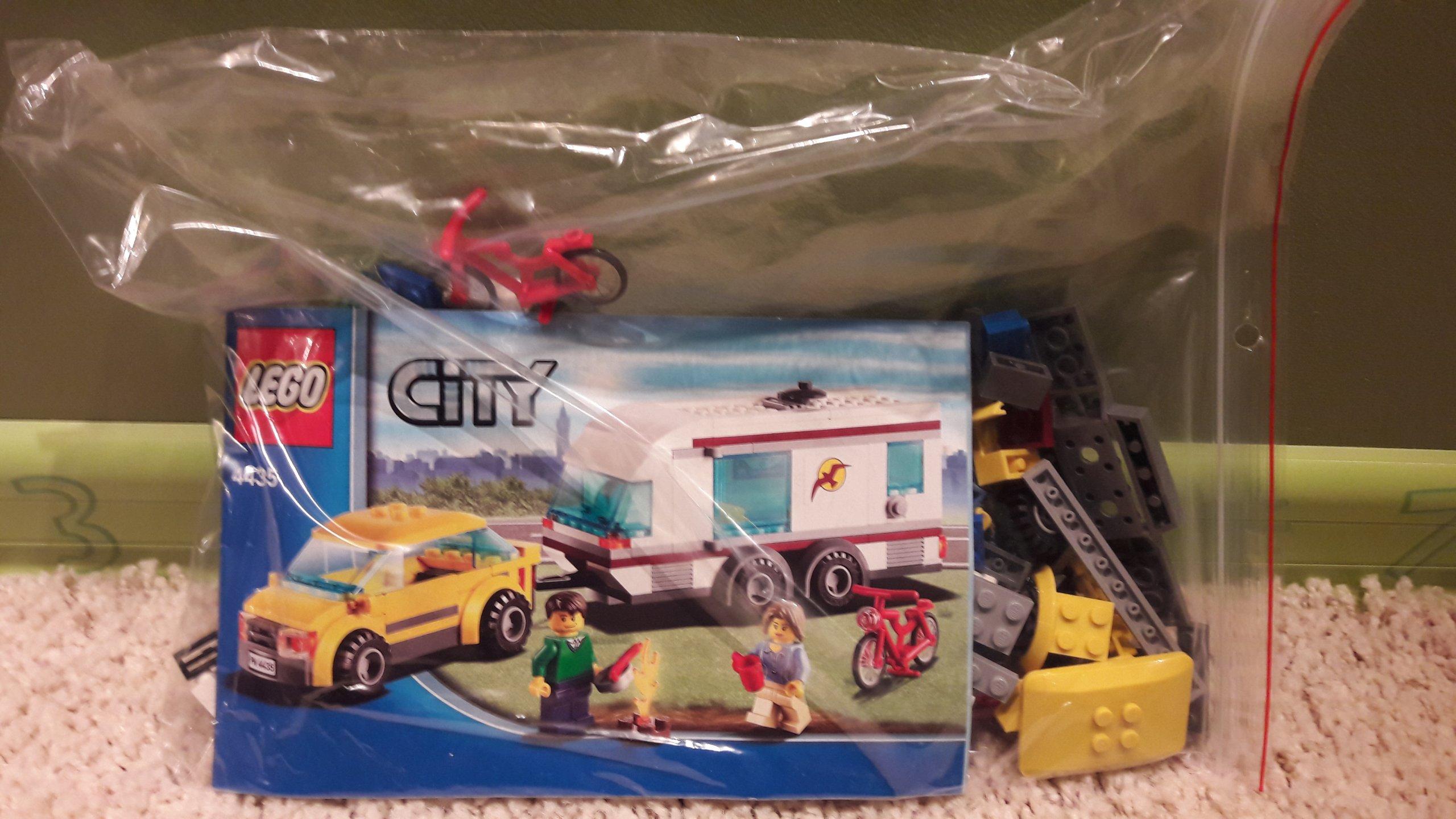 Lego Samochód Z Przyczepą Kempingowa 4435 7259528379 Oficjalne