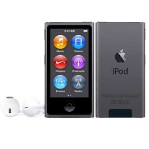 APPLE iPod nano 16GB - Space Gray MKN52PL/A
