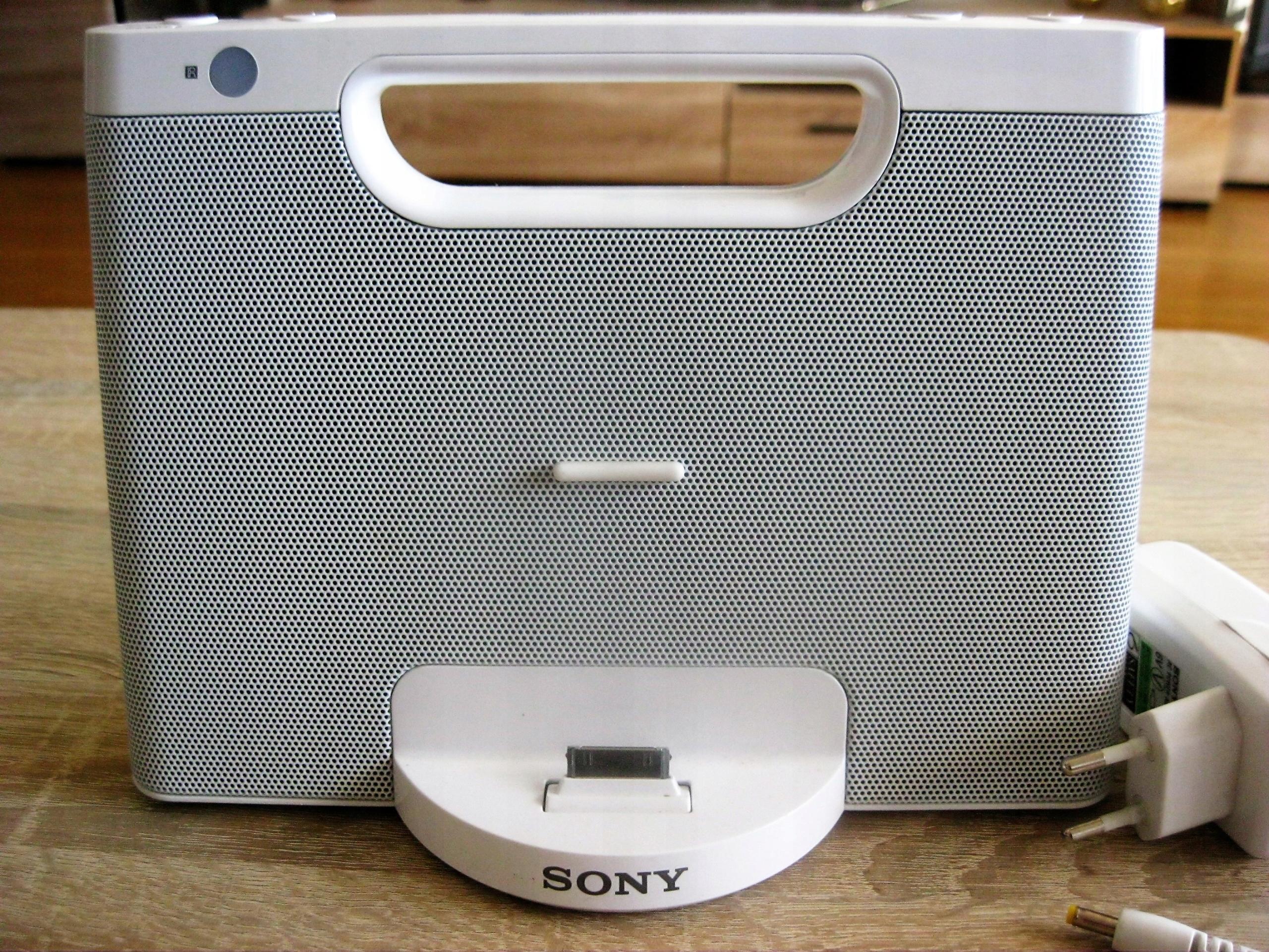 Głośniki stacja dokująca SONY RDP-M7iP iPhone/iPod